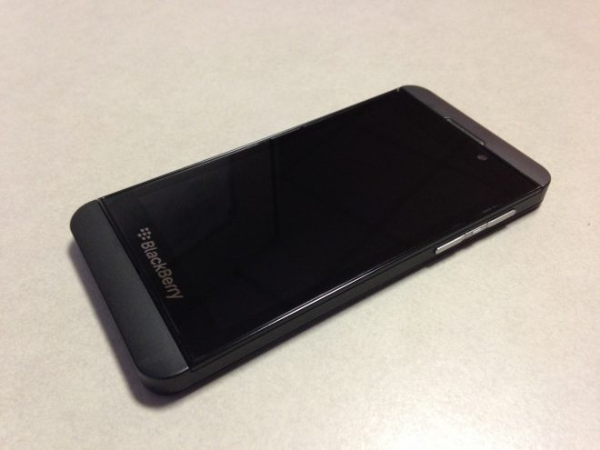 Blackberry Z10, le test