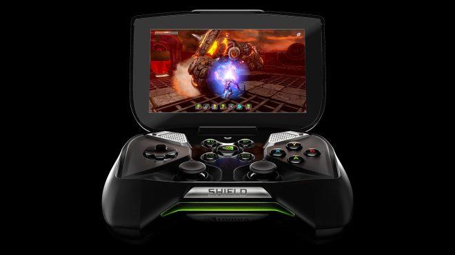 La console portable Android Nvidia Shield est sortie uniquement aux États-Unis, mais une arrivée en Europe est envisagée