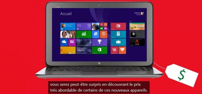 Licence Windows 8.1 à 15 dollars, mais avec Bing installé comme moteur de recherche par défaut