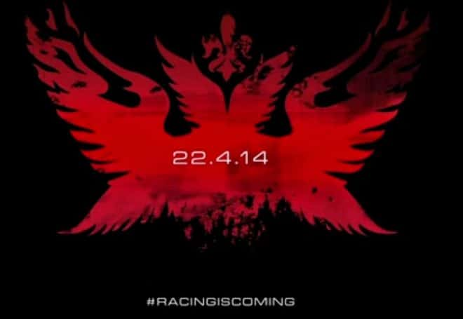 Racing is coming, le mardi 22 avril !