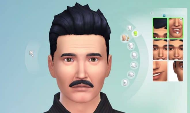 Les Sims 4 permettent de vieillir l'apparence d'un personnage grâce aux rides.