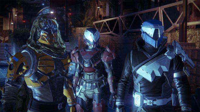 Tenues exclusives pour les joueurs PlayStation : Hunter, Guardian et Warlock