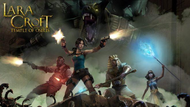 Lara Croft; Carter Bell, Horus et Isis. La routine, quoi.