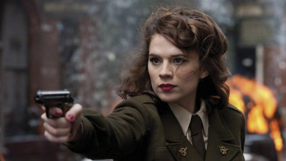 Hayley Atwell dans le film Captain America