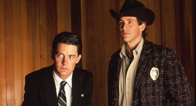 Kyle MachLachlan et Michael Ontkean, Twin Peaks