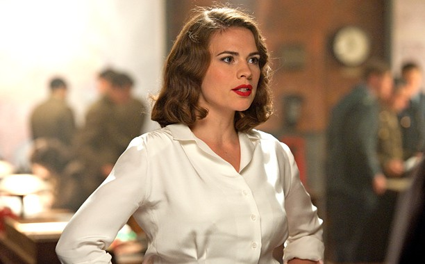 Hayley Atwell dans le film Captain America : The First Avenger
