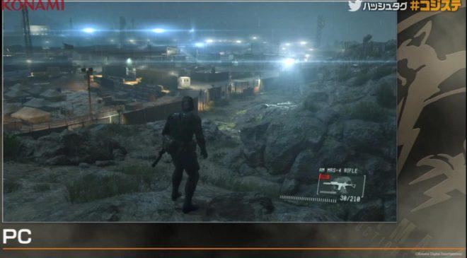 Metal Gear Solid V : Ground Zero lumière PC