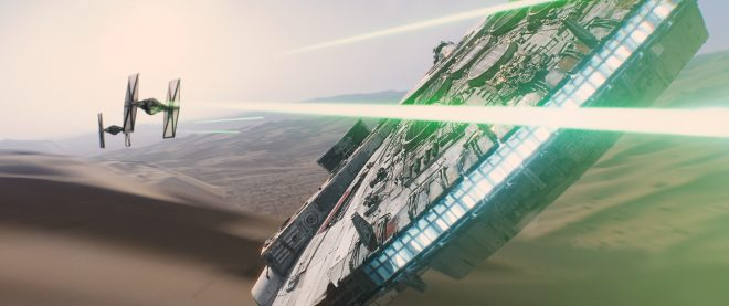 Les TIE Fighters tirent toujours aussi mal.
