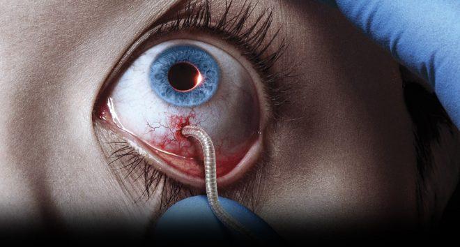 Poster promotionnel de la série The Strain
