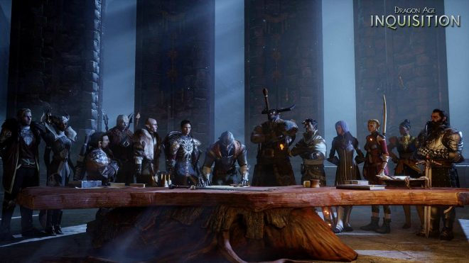 Le cœur de ce jeu est là : sa fantastique galerie de personnages.