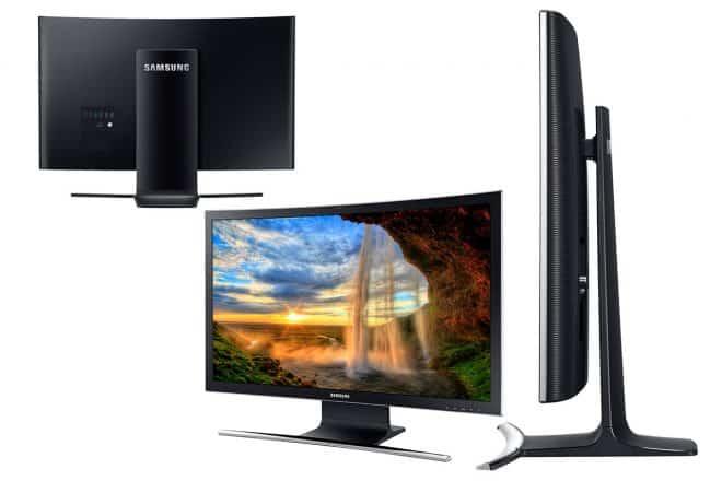 Le PC a écran incurvé Samsung ATIV One 7 Curved