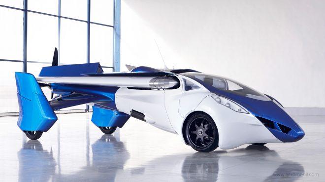 Voici votre véhicule de fonction Mr Bond. bienvenue dans l'AeroMobil 3.0