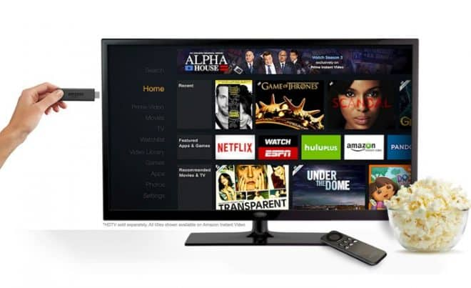 L'Amazon Fire TV Stick débarque en Europe