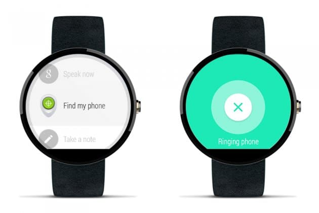 Google déploi Find my Phone pour android Wear