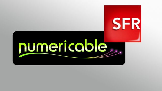 Logo groupe SFR-Numericable.