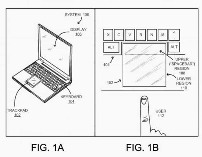 Le brevet de Google pour un clavier sans barre d'espace