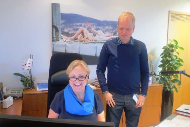 Thorhild Widvey, la ministre de la culture de la Norvège