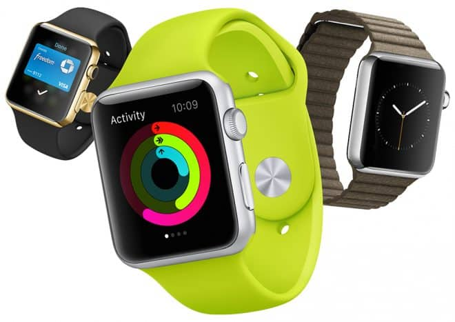 L'Apple Watch et ses déclinaisons