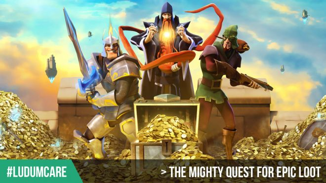 #LudumCare The Mighty Quest For Epic Loot
