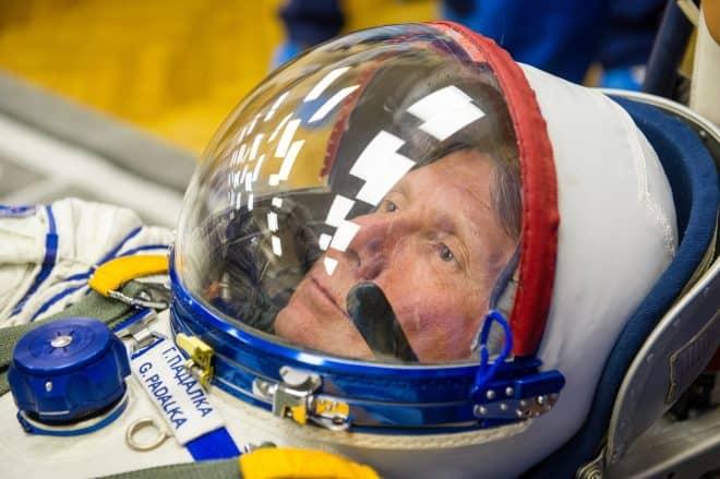Photo d'un cosmonaute