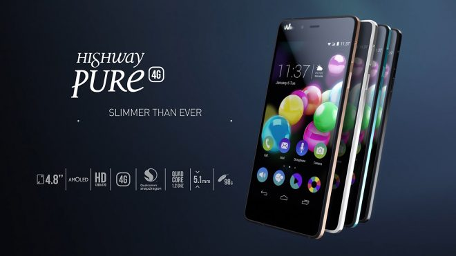 Le Wiko Highway Pure 4G.
