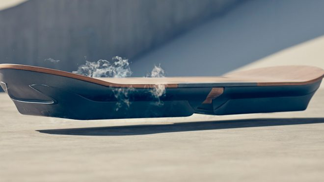 Le prototype d'Hoverboard Lexus
