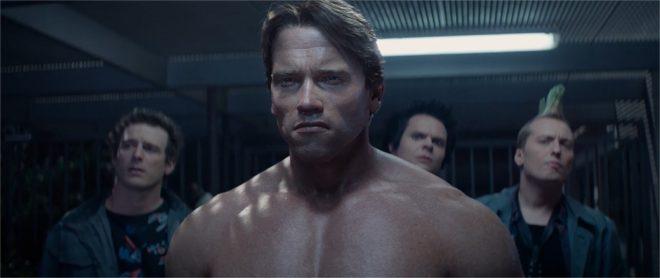 """Capture d'écran de l'extrait de """"Terminator Genisys"""" proposé par la Paramount"""