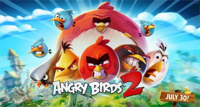Visuel du nouvel Angry Birds 2