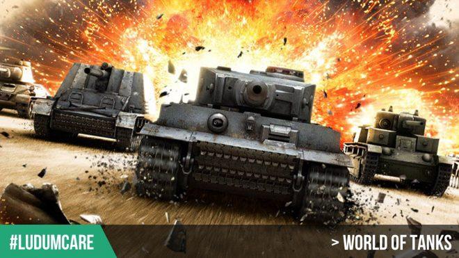 #LudumCare World of Tanks