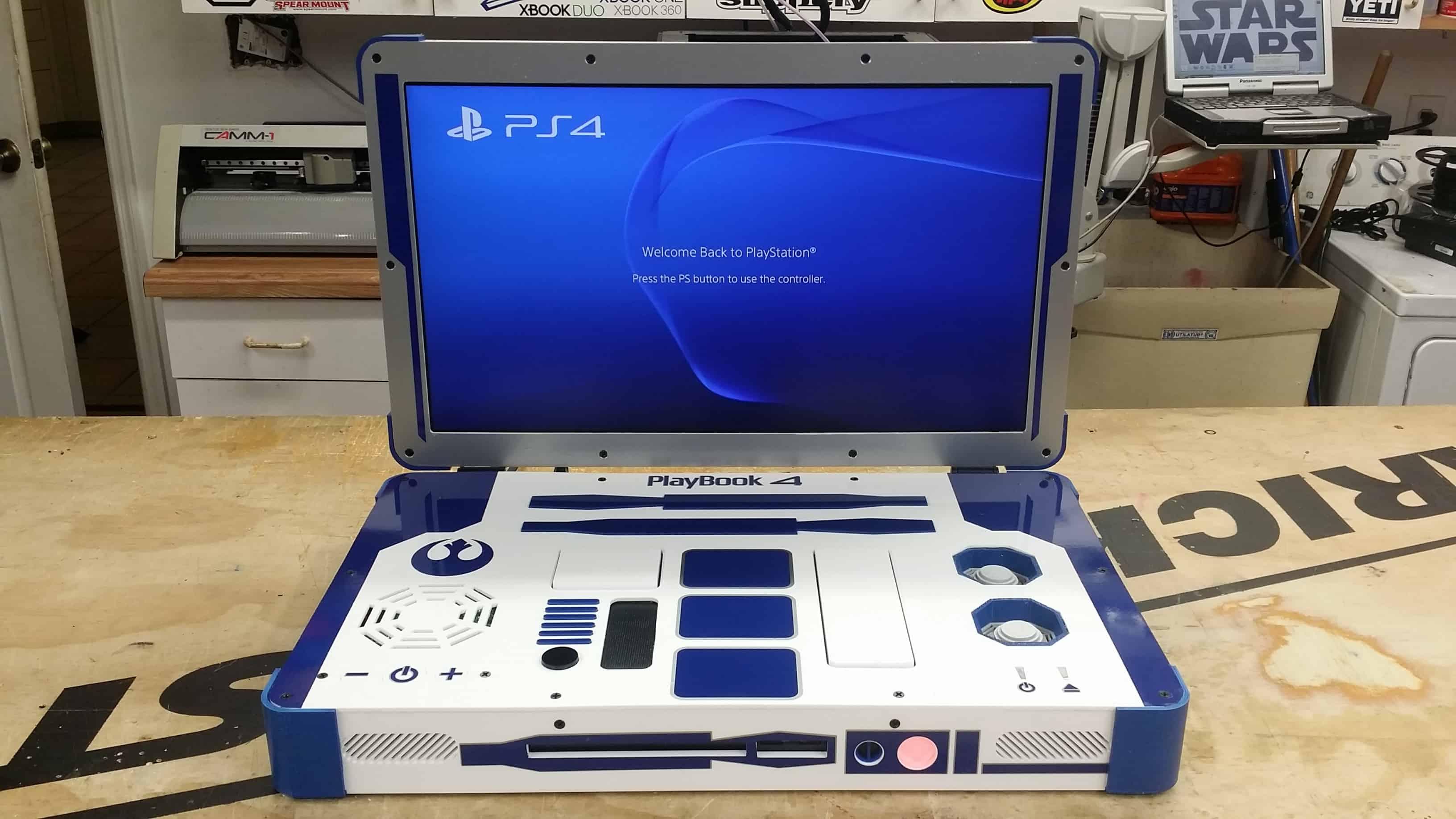 Ps4 D 233 Couvrez La Magnifique Version Portable R2d2
