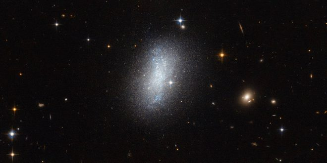 La galaxie PGC 18431, captée par le télescope Hubble.