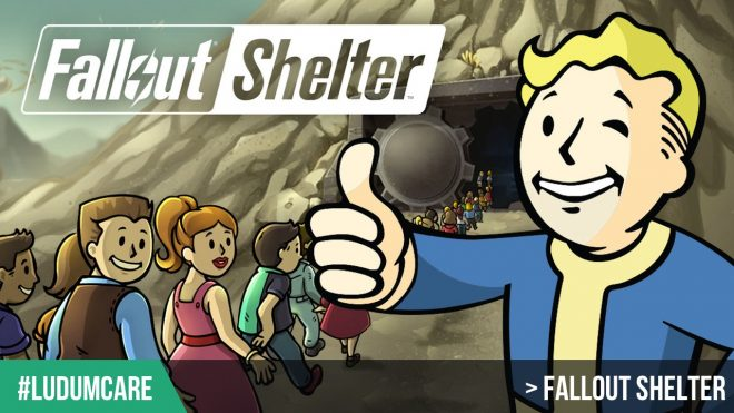 #LudumCare Fallout Shelter
