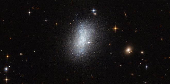 Un amas de galaxies.