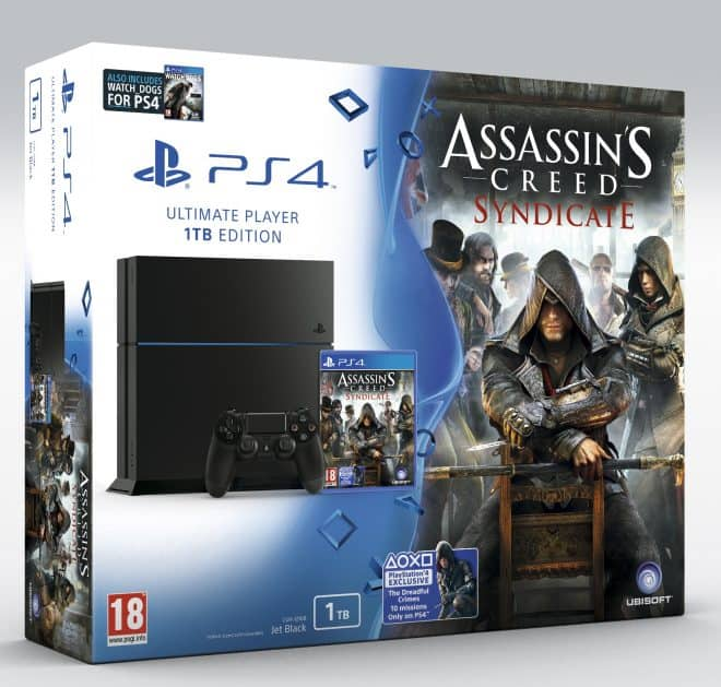 Le bundle exclusif PS4 Assassin's Creed Syndicate