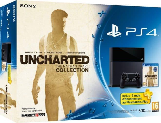 Le bundle PS4 Uncharted Uncharted : The Nathan Drake Collection disponible en précommande