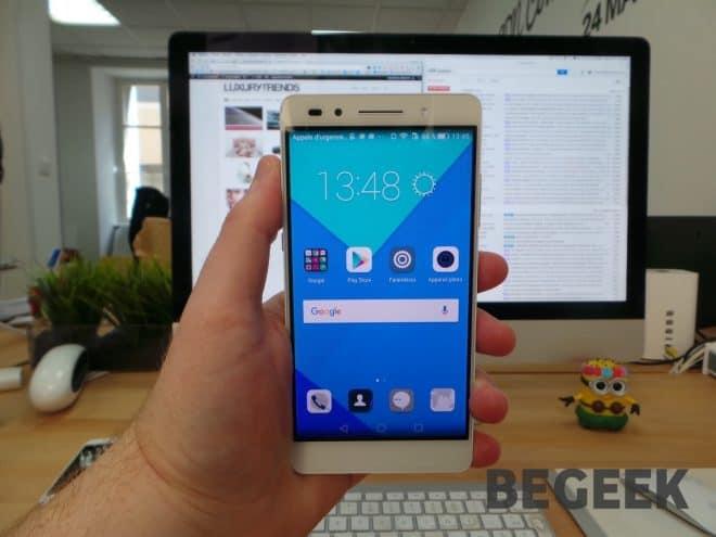 Le Huawei Honor 7
