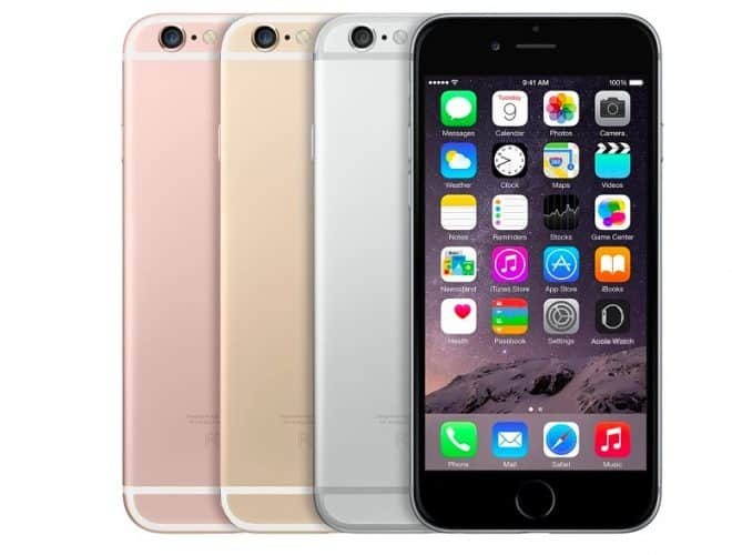 difference taille iphone 6 et 6s