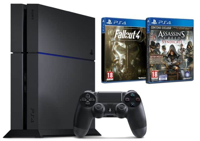 Pack Promo PS4 + Fallout 4 + Assassin's Creed Syndicate