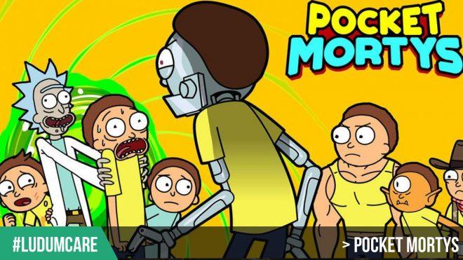 #LudumCare Pocket Mortys