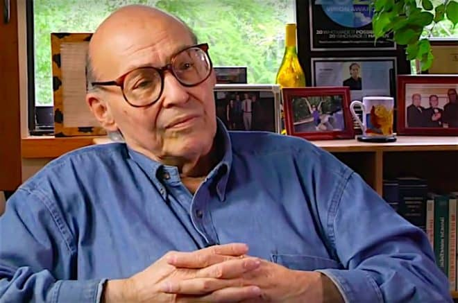 Le scientifique Marvin Minsky