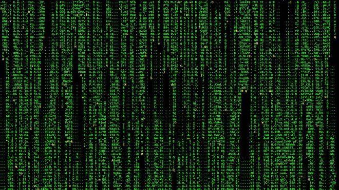 Matrix version ASCII. Le plus vieux torrent du monde!