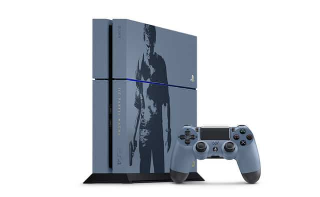 PS4 collector Uncharted 4