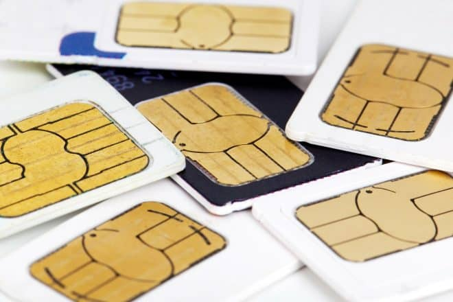 Des cartes SIM