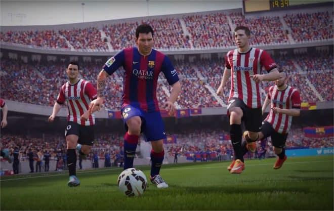 Fifa 16 - capture d'écran du trailer officiel