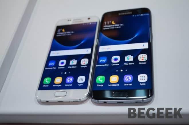 Galaxy S7 et Galaxy S7 Edge