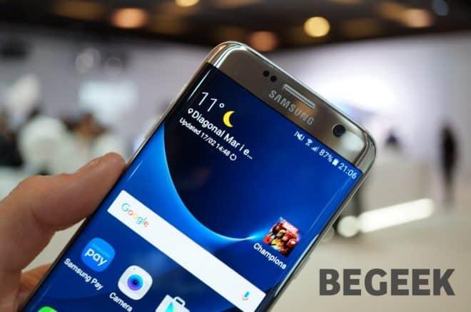 La présentation des Samsung GalaxyS7 et S7 Edge faisait partie des événements phares du MWC2016 de Barcelone. Le moins que l'on puisse dire, c'est que le géant coréen n'aura pas attendu longtemps avant de lever le voile sur son dernier flagship. Au programme, dalle AMOLED5,1 pouces pouvant afficher une résolution de 2560 x 1440 pixels,processeur […]