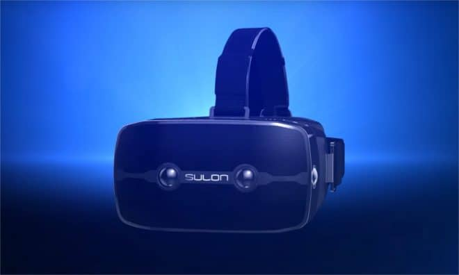 Le casque de réalité virtuelle AMD Sulon Q - capture d'écran YouTube