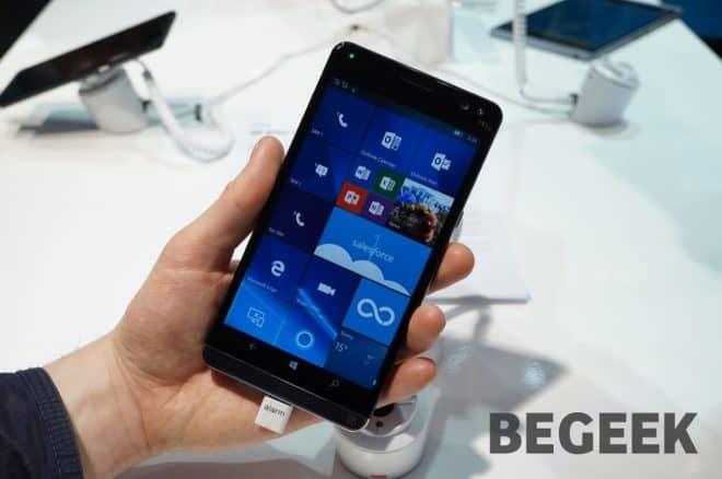 Un smartphone-PC ? Si dans les faits ce n'est clairement pas le cas, on comprend ce que HP souhaite faire. Le Elite X3 est un appareil sous Windows 10 pour mobile avec de très grosses caractéristiques techniques, ce qui le place d'ailleurs en tête de liste sur cet aspect, au sein de l'écosystème de Microsoft. […]