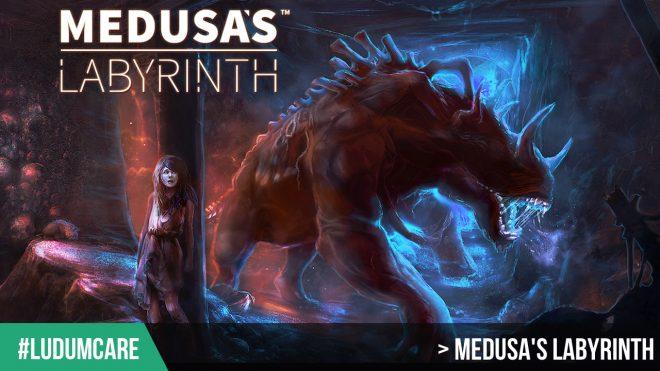 #LudumCare Medusa's Labyrinth