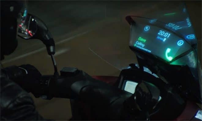 Smart Winshield de Samsung - capture d'écran de la vidéo de présentation officielle